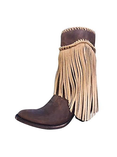 Kally Fringe 10' Cowgirl Boots