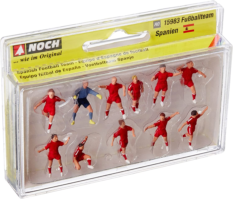 NOCH-Equipo de fútbol España, Color (Bunt) (15983): Amazon.es ...