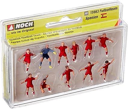 NOCH - 15983 - vía H0 - Equipo de fútbol de España - Multicolor ...