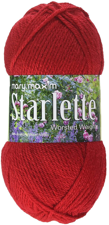 Mary Maxim Starlette Yarn Aqua 4 Medium Worsted Weight 100/% Ultra Soft Premium Acrylic Yarn for Knitting and Crocheting