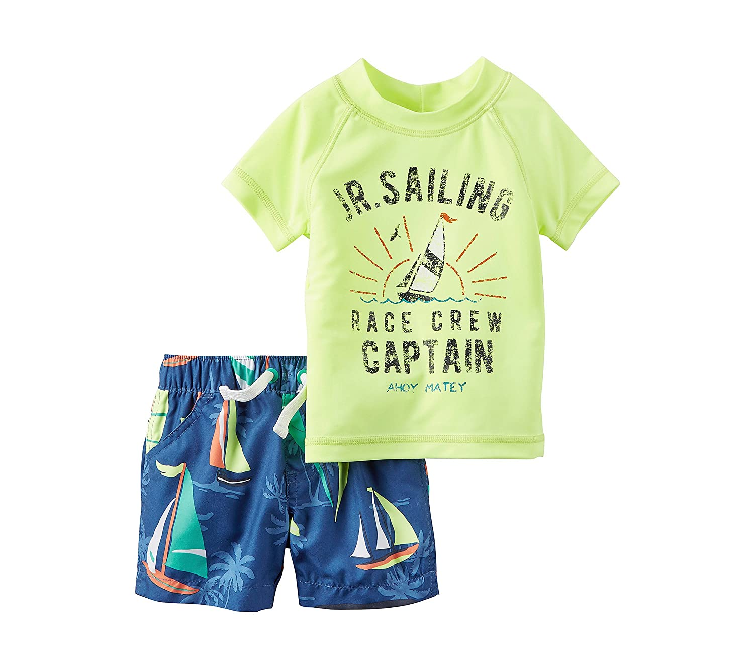 Carter's Baby Boys' Sailing Swim Set Carters