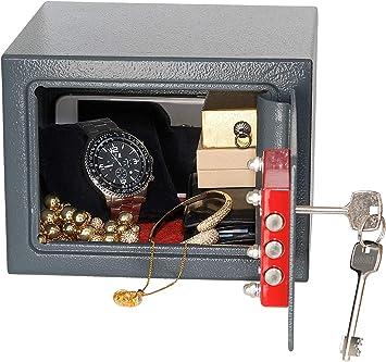 XCase Coffre-fort compact 5/L en acier avec 2/cl/és /à double panneton