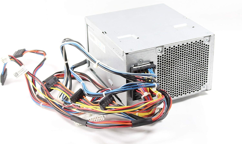 Dell Precision T3500 Workstation 525W Power Supply PSU 6W6M1 D525AF-00 D525A001L (Renewed)