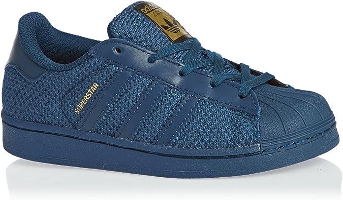 adidas superstar enfant bleu