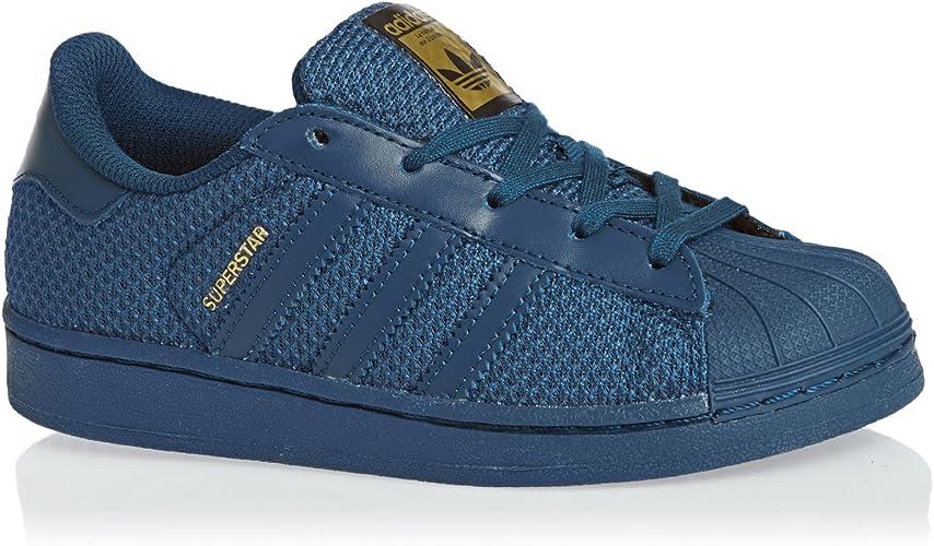 adidas Superstar Nylon Bleu Marine Enfant Bleu 33: