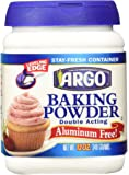 Argo Double Acting Aluminum Free Baking Powder, 12 oz