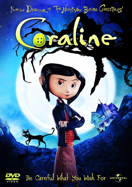 Amazon Com Coraline 2d Version Only 2009 Dakota Fanning Teri Hatcher Movies Tv