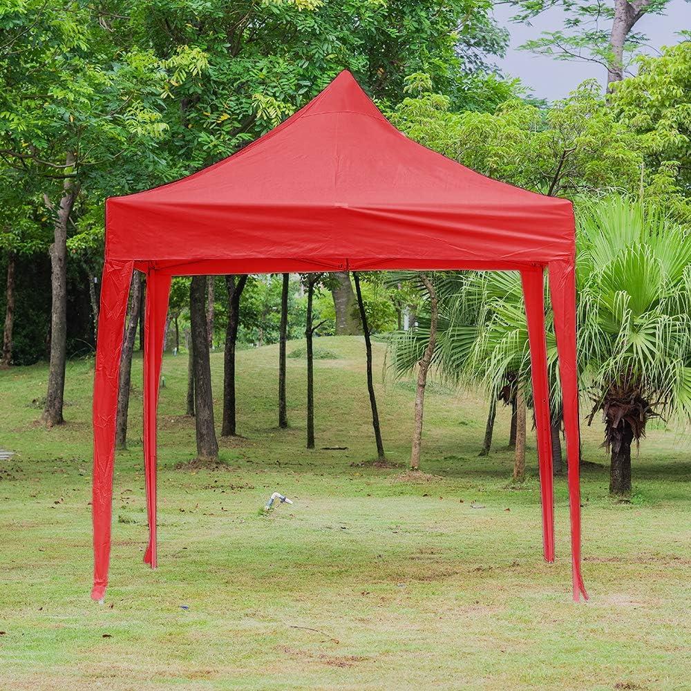 Keinde - Carpa de jardín de 3 x 3 m, Impermeable, de Polietileno, toldo para Fiesta, toldo para Camping, Club, sombrillas para Exteriores, Boda, jardín, Fiesta: Amazon.es: Jardín