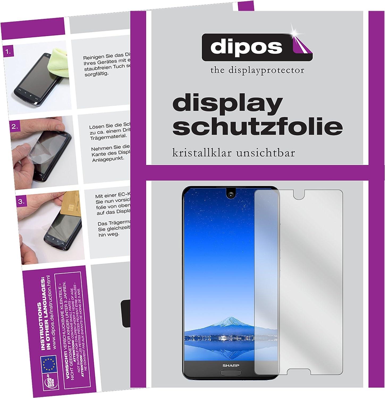 dipos I 2X Protector de Pantalla Compatible con Sharp Aquos S2 ...