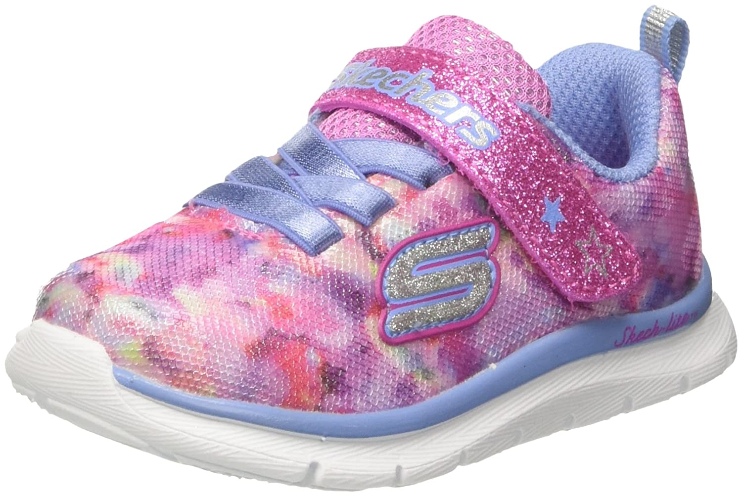 Skechers 82071n, Baskets bébé Fille