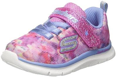 b149735e85d2 Skechers Baby Girls  82071n Trainers  Amazon.co.uk  Shoes   Bags