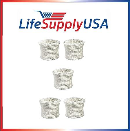 5 Pack Humidifier Filter for Protec WF2 Extended Life Vicks WF2; Fits Vicks V3500N, V3100, V3900 Series, V3700, Sunbeam 1118 Series & Honeywell