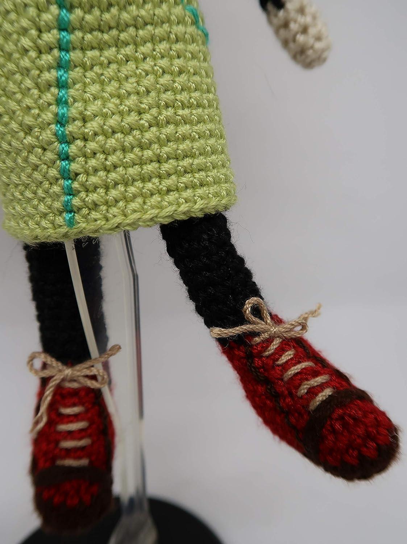 Muñeca amigurumi en lana, crochet ganchillo doll peluche niño niña mujer: Amazon.es: Handmade