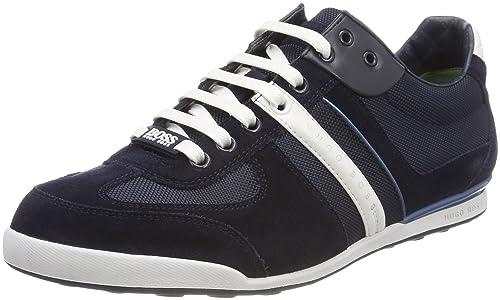 Mens Legacy_Runn_buex Low-Top Sneakers BOSS QXC6BrQG