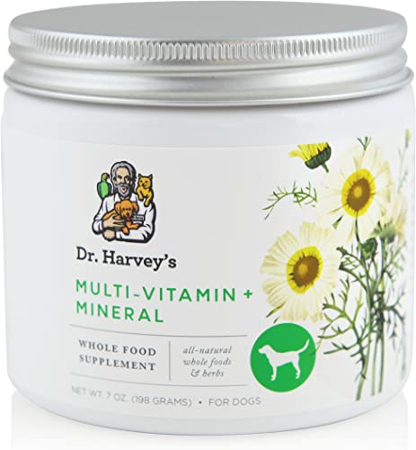 Dr. Harvey s Herbal Multi-Vitamin and Mineral Supplement for Dogs, 7-Ounce Tin
