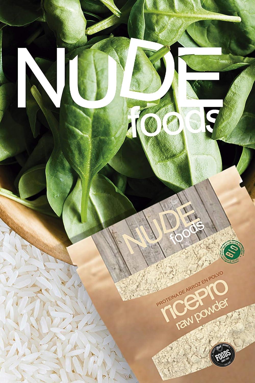 NUDE Foods Rice Protein Ecológico en Polvo sin Sabor ...