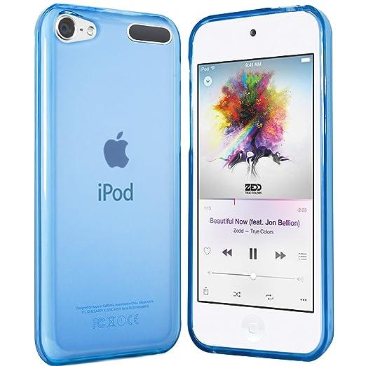 2 opinioni per iPod Touch 6G Custodia- moodie Cover Case Silicone per Apple iPod Touch 6G- Blu