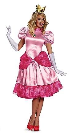 Deluxe De Disfraz AdultosAmazon es Princesa Peach Disguise FJcK1l