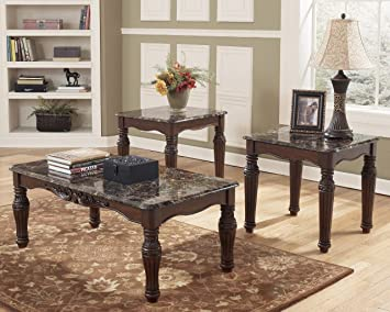 Ashley Furniture Signature Design   North Shore Occasional Table Set   End  Tables And Coffee Table