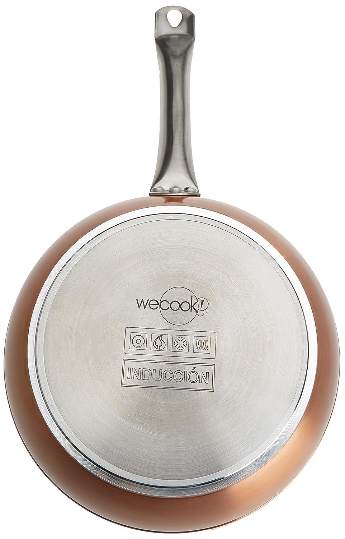 WECOOK Sartén con Efecto Piedra, Aluminio, Cobre, 20 cm: Amazon.es: Hogar