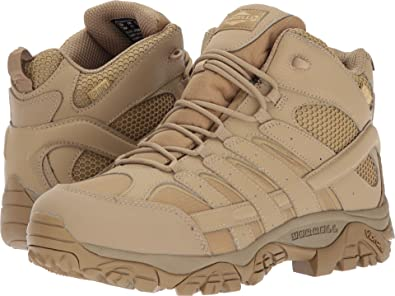 0d82a7b296e Merrell Mens Moab 2 Mid Tactical Waterproof: Amazon.co.uk: Shoes & Bags