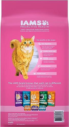 Iams Proactive Health Sensitive Stomach Adult Cat Food, Chicken Turkey