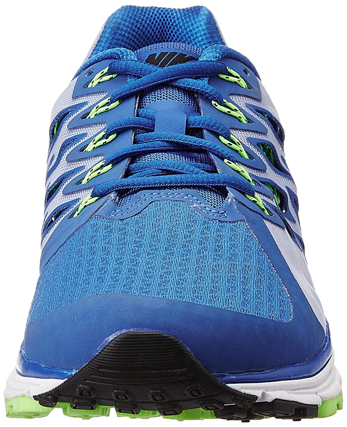 size 40 887a2 5bb04 Nike Men s Zoom Vomero 9 Lyon Blue, Black, White, Flash Lime Running Shoes  -8 UK India (42.5 EU)(9 US)  Buy Online at Low Prices in India - Amazon.in