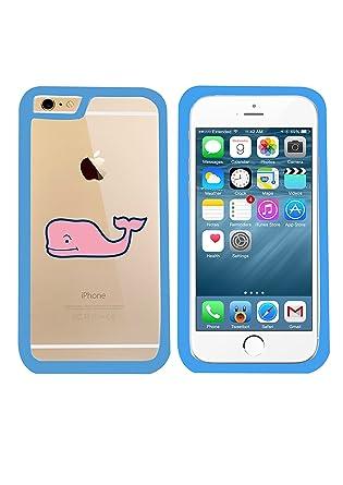 Amazon.com: Hablar ballena iPhone 6 Plus Bumper Case Funda ...