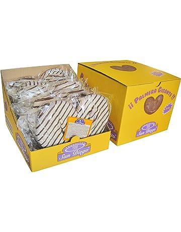 Productos San Diego Palmeras Gigantes Zebra - Paquete de 10 x 180 gr - Total: