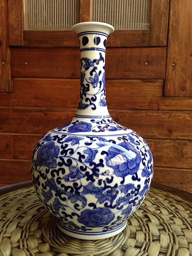 Amazon Big Sale Classic Chinese Vintage Ming Era Blue And