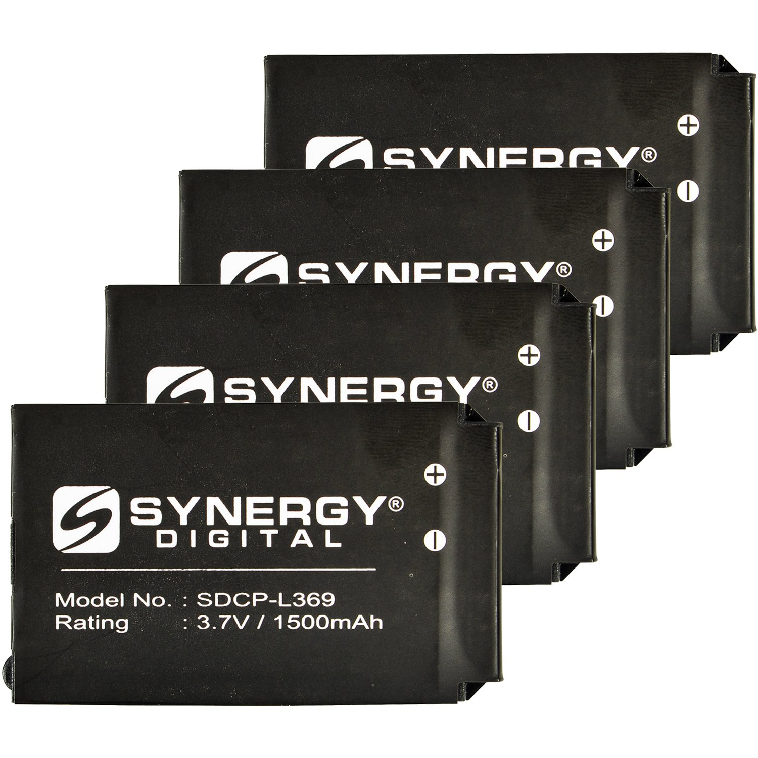 Cisco 74-5469-01 Cordless Phone Battery Combo-Pack Includes: 4 x SDCP-L369 Batteries by Synergy Digital