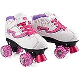 Xootz Disco Quad Skate, Roller Skates with LED Wheels