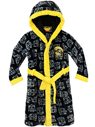 Transformers Boys Autobots Dressing Gown: Amazon.co.uk: Clothing