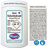 Algin Ätzkali - Kaliumhydroxid 1 kg Dose- potassium hydroxide