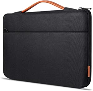 Inateck 15-15.6 Inch Shockproof Laptop Sleeve Case Briefcase Bag Water Resistant for Laptops, Notebooks, Ultrabooks, Netbooks - Black