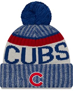 Amazon.com   Chicago Cubs Big Logo Light Up Printed Beanie   Sports ... b358ee7af0e