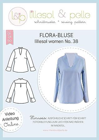 lillesol & pelle - Patrón de Costura para Confeccionar Blusa de ...