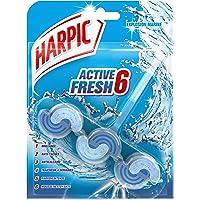 Harpic Fresh Power 6 Toilet Block, Marine Splash, 35g,107908086