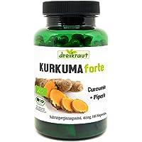 Kurkuma Forte de dreikraut – Cúrcuma Bio