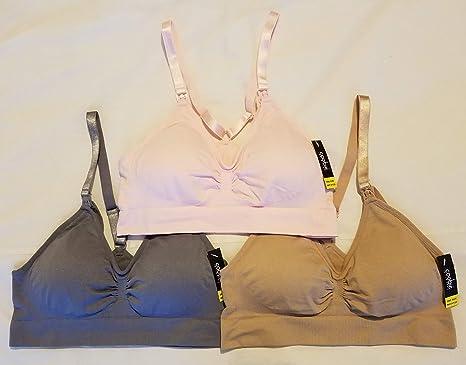 Coobie 3-Pack Seamless Nursing Bra 9120 Pink