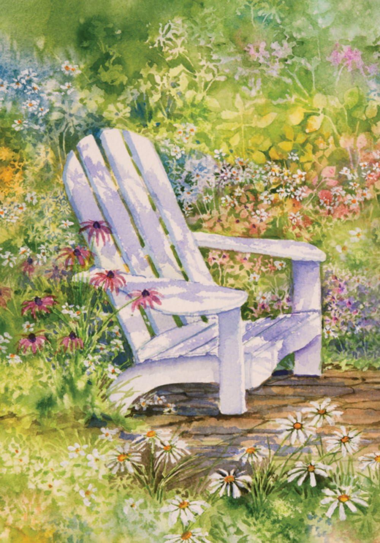 """Toland Home Garden 110004 Sitting Pretty 12.5 x 18 Inch Decorative, Garden Flag-12.5"""" x 18"""""""
