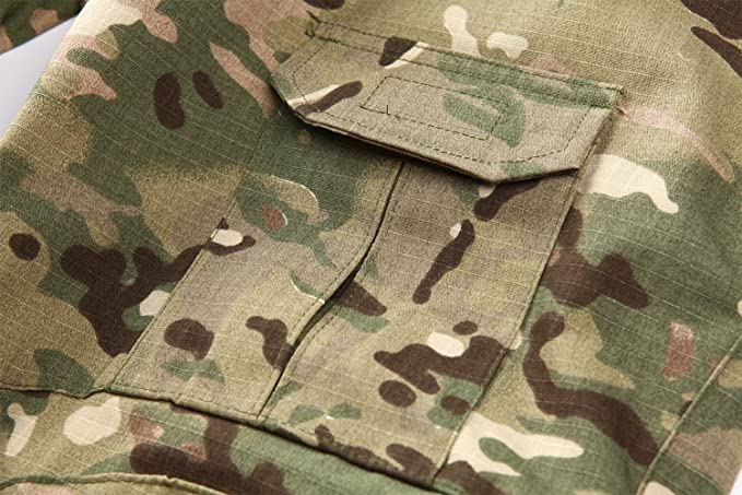 Amazon.com: MAGCOMSEN Army Uniform Tactical Military BDU Combat Camouflage SwatShooting Uniform: Clothing