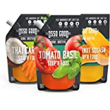 Osso Good Soup Variety Pack, Made with Organic Chicken Bone Broth, Paleo Certified, Dairy Free & Gluten Free, 6 Count