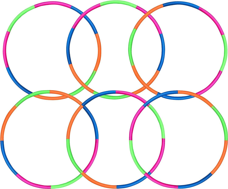 Buy 2 and Save Practice Performance Hula Hoop Set Double Hoop Set PolyproHDPE Twin Dance