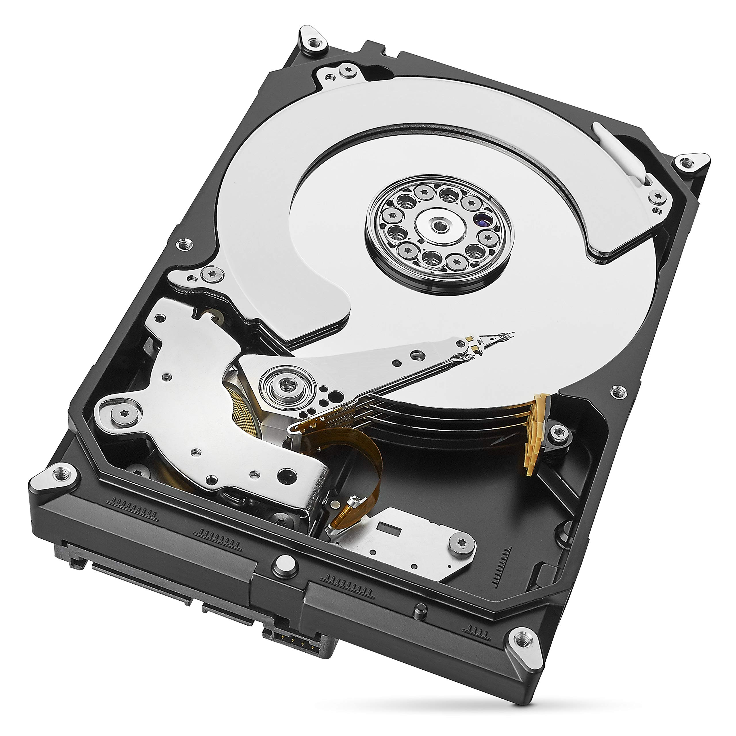 Seagate IronWolf 3 TB NAS RAID Internal Hard Drive - 5,900 RPM SATA 6 Gb/s 3.5-inch - Frustration Free Packaging (ST3000VN007) by Seagate (Image #2)