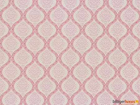 Vintage Diary 255279 Wallpaper Country Cottage Style Pink Baroque
