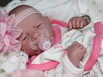 Amazon.com: AWW! Im New Baby Girl! Berenguer Lifelike ...