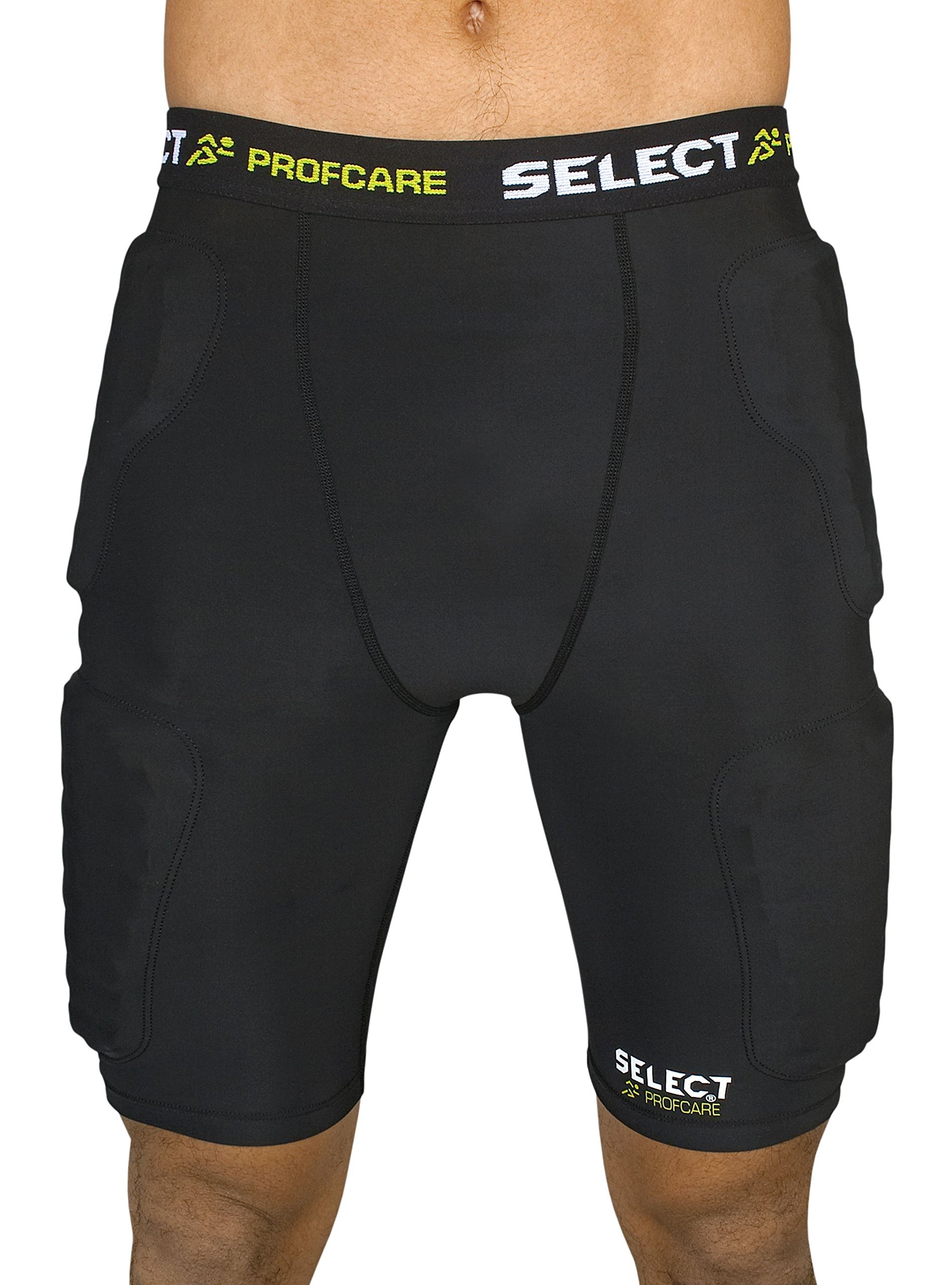 Select Sport America Padded Compression Shorts, Large
