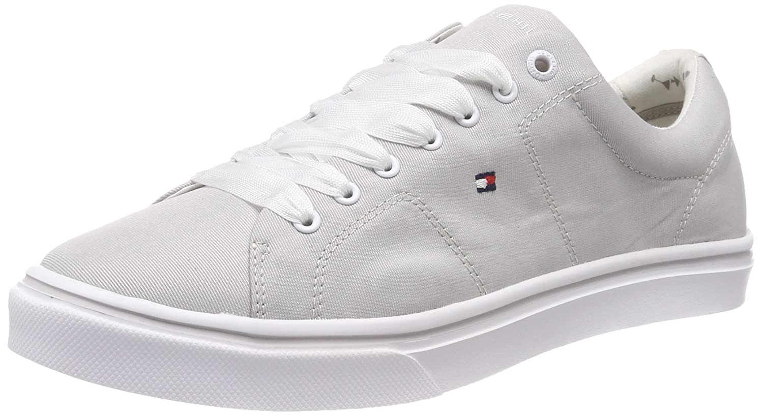 TALLA 40 EU. Tommy Hilfiger Metallic Light Weight Lace Up, Zapatillas para Mujer