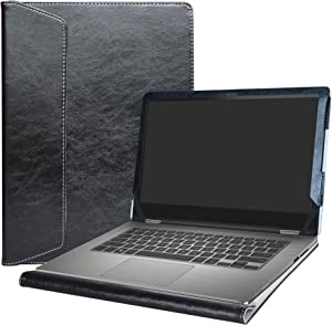 """Alapmk Protective Case Cover for 13.3"""" Dell Inspiron 13 2-in-1 7359 7353 7352 7348 7347 Series Laptop(Warnig:Not fit Inspiron 13 2-in-1 7378 7375 7368 7373),Black"""